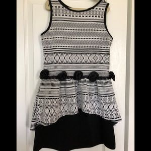 Laundry by Shelli Segal girls size 10 dress